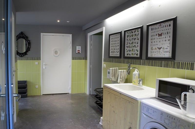 Les salles de bains des cabanes perchées