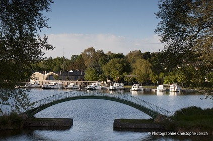 Pont canal de Briare et la Loire