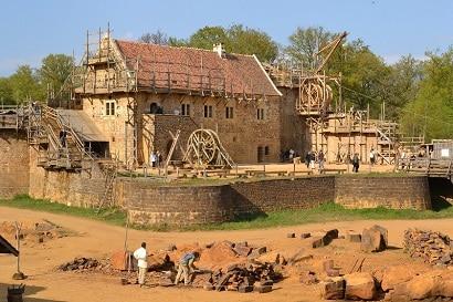 Château de Guédelon en Bourgogne
