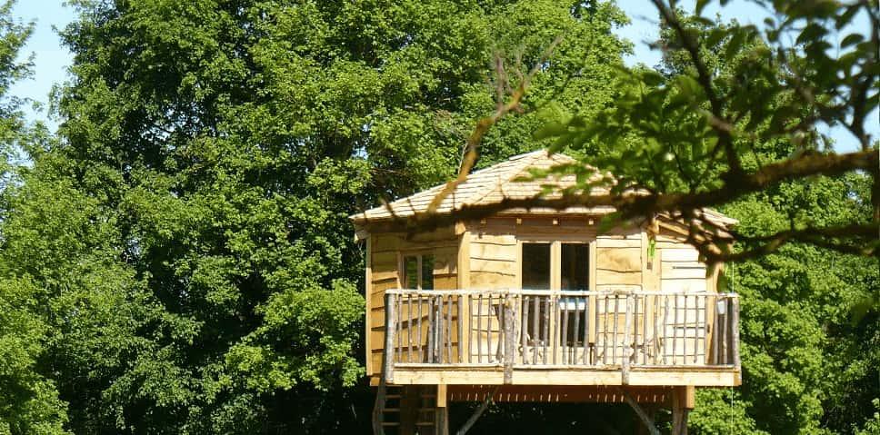 nuit insolite en cabane dans les arbres dans le Centre Val de Loire