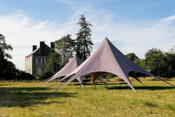 Camping avec activités de plein air