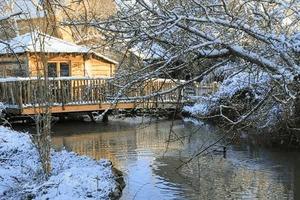 cabane sur l'eau la Libellule